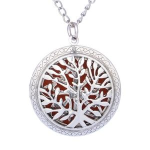 Necklace - Aroma Diffuser Tree of Life